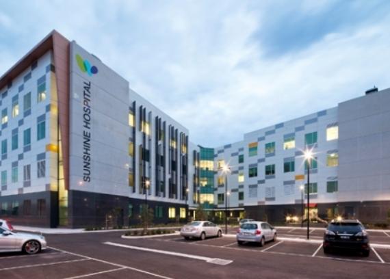 Sunshine Hospital Acute Services Building Kane Constructions
