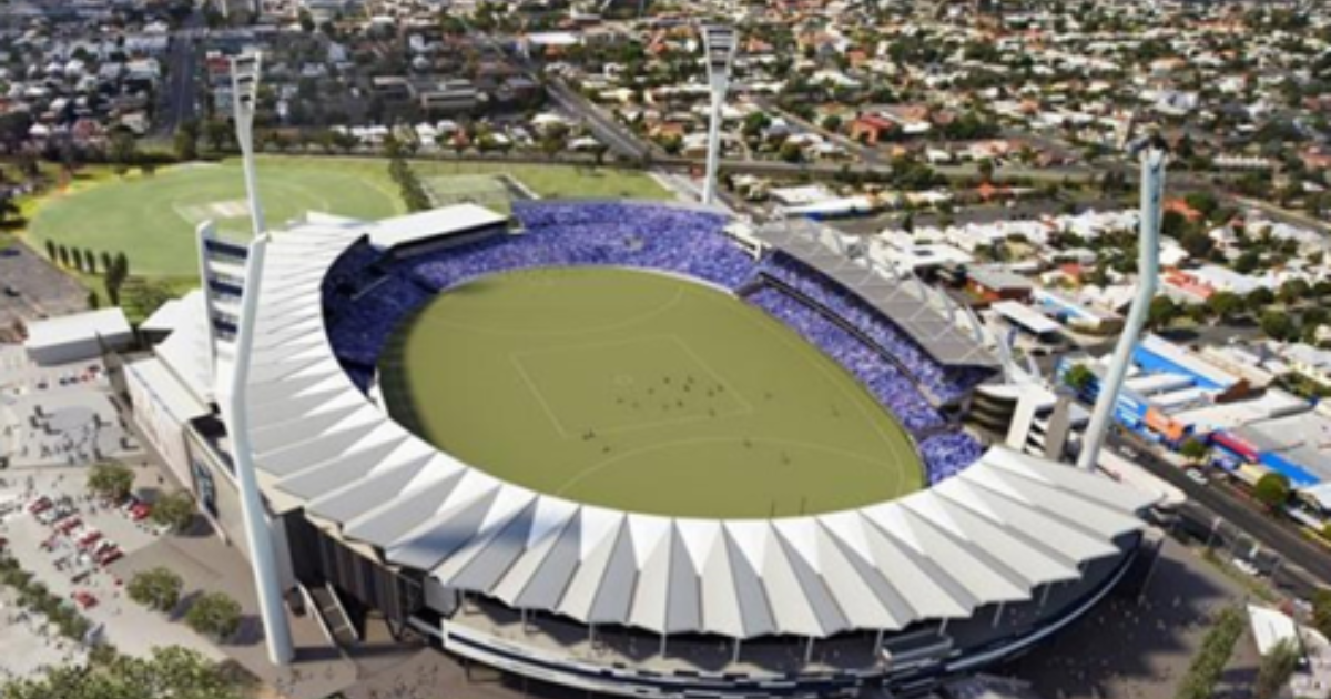 Simonds Stadium Stage 4 Redevelopment Main Works Kane